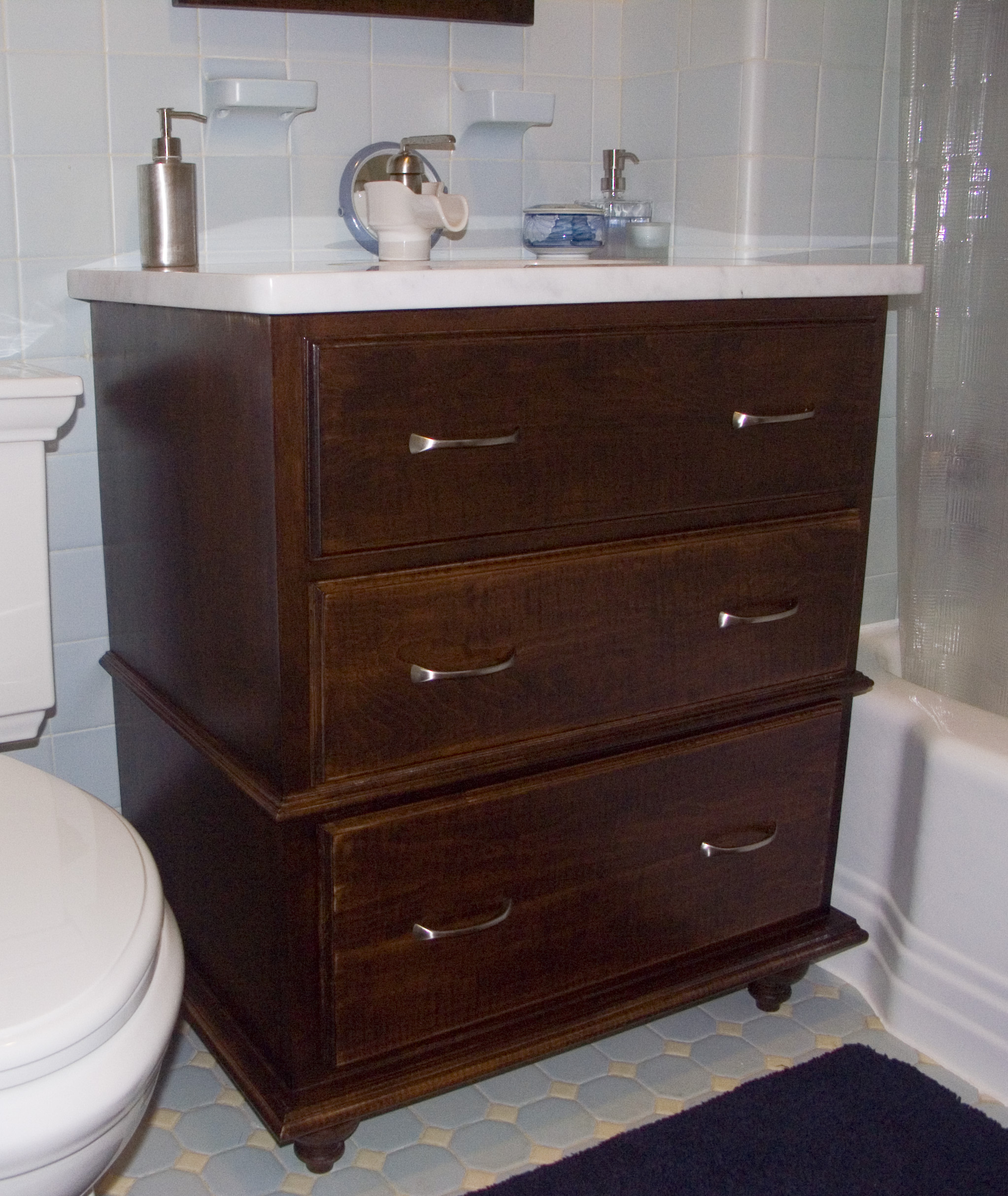Maple Bathroom Vanity Silverpearl Woodworking