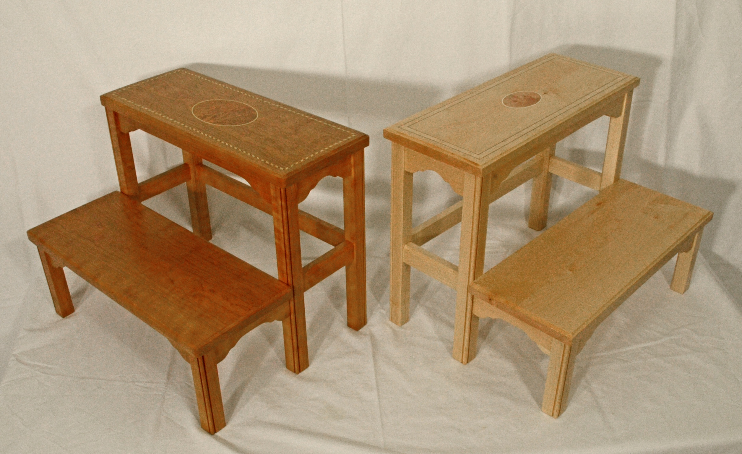 & Cherry Federal Step Stool | SilverPearl Woodworking islam-shia.org