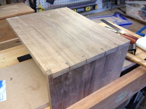 Fitting the dovetails