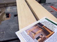 White Pine boards and the Wood Magazine article
